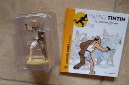 Figurine Tintin + Livre Alonzo Perez - Figurines
