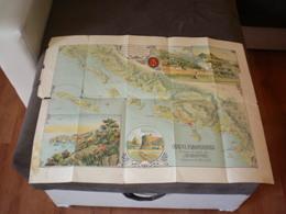 Dubrovnik, Ragusa, Navy,  Mapa, Dubrovnik I Okolica, Dubrovacka Parobrodarska Plovidba - Cartes Marines