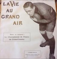 1908 RUGBY - COMMUNEAU - CAPITAINE DU STADE FRANCAIS ET DE L'EQUIPE DE FRANCE - Livres, BD, Revues