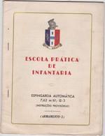 PORTUGAL - BOOK OF INSTRUCTIONS GUN - PISTOL - AUTOMATIC SHOTGUN - Altri