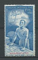 MADAGASCAR 1942 . Poste Aérienne N° 44 . Neuf ** (MNH) - Madagascar (1889-1960)
