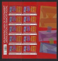 Belgie - Belgique 4089 Velletje Van 10 Postfris - Feuillet De 10 Timbres Neufs  - Vrijmaking Postmarkt - Feuilles Complètes