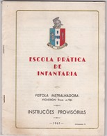 PORTUGAL - BOOK OF INSTRUCTIONS GUN - PISTOL - MACHINE PISTOL - Altri