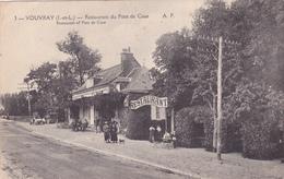 CPA 37 @ VOUVRAY @ Restaurant Du Pont De Cisse - Vouvray