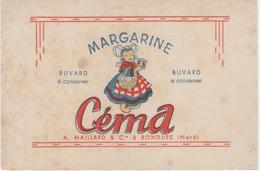 Buvard - Margarine CEMA -  Maillard - BONDUES (Nord) - Unclassified