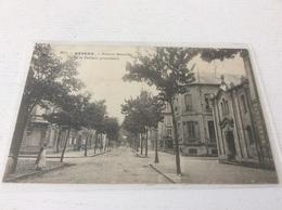 58 - NEVERS Avenue Marceau Et Le Temple Protestant - Nevers