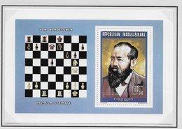 Madagaskar 1996 ; Chess Ajedrez; Set + 2x S/s - Madagaskar (1960-...)
