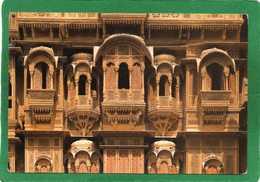 Jaisalmer Ville Du Rajasthan Située à 100 Km De La Frontière Du Pakistan.PATWON-KI-HAVELI  CPM Année 1980 - India
