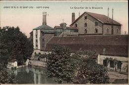 Cp Diou Allier, Abbaye De Saint Lieu, Abbaye De Sept-Fons, Quartier De La Brasserie, Klosterbrauerei - Autres Communes