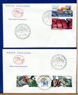ITALIA - FDC  CAVALLINO 1986 -    LAVORO ITALIANO - 6. 1946-.. Republic