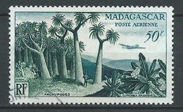 MADAGASCAR 1954 . Poste Aérienne N° 75 . Oblitéré . - Madagascar (1889-1960)