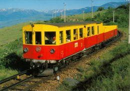 AK Eisenbahn Frankreich FRANCE Saillagouse SNCF Métro Pyrénéen Z 111-118 Villefranche–Vernet Les Bains–La Tour De Carol - Eisenbahnen