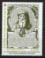 SMOM 2011 Sass.1051 MNH/** VF - Malte (Ordre De)