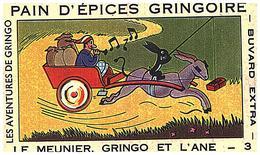 P Gr/ Pain D'épices Gringoire  Le Meunier Gringo Et L' Ane N= 3   (N= 6) - Gingerbread