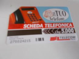 B699  Scheda Telefonica Il Tuo Telefono - Unclassified