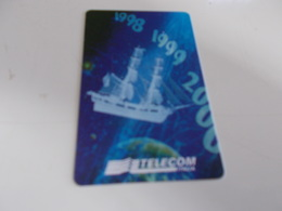 B699  Scheda Telefonica Genova Verso Il 2000 - Unclassified