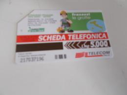 B699  Scheda Telefonica Grotte Frasassi - Unclassified