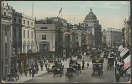 Regent Street, London, 1908 - Hartmann Postcard - London