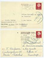 Carte Nederland - Postwaardestukken