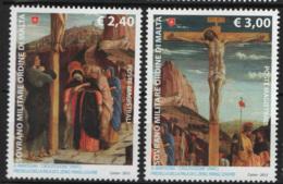 SMOM 2012 Sass.1099/100 MNH/** VF - Malte (Ordre De)