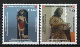 SMOM 2012 Sass.1111/12 MNH/** VF - Malte (Ordre De)