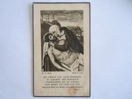Doodsprentje Maria-Alina Van Eesbeek Gooik 1887 1940 Echtg Jozef Maris Vlekken RVNed Série C N° 510 - Devotieprenten