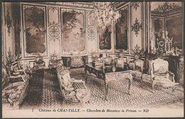 Chambre De Monsieur Le Prince, Château De Chantilly, C.1920s - Lévy Et Neurdein CPA - Chantilly