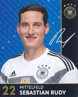 DFB 2017 Fussball Nationalspieler Sebastian Rudy - Soccer