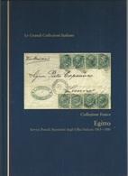 Volume Egitto Egypt Servizi Postali Marittimi Uffici Italiani 1863/80 Monografia Rilegato (blu) 90 Pagine 100 Fotografie - Bibliografieën