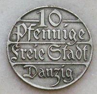 Danzig 10 Pennige 1923 - [ 3] 1918-1933 : Weimar Republic