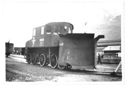 "FOTOGRAFIA ORIGINALE LOCOMOTIVA ""E. 550"" (?) - Trains"