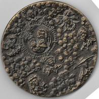 Medaille Bronze 1986 Groupe Des Populaires D'assurances 75ème Anniversaire 141 Gr - 70mm - Francia