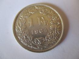 Suisse: 1 Franc 1964 (silver) - Suisse