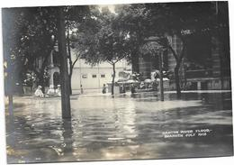 Original Photo, China, Canton River Flood, Shameen July 1915. - China