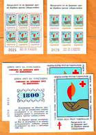 Yugoslavia 1988 Y Charity Stamps  Red Cross Tuberculosis  For Macedonia Catalog Safar Booklets 18-19 A MNH - Neufs