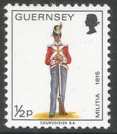 Guernsey. 1974 Guernsey Militia. ½p MH. SG 98 - Guernsey