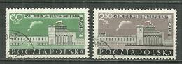 POLAND Oblitéré 981-982 Conférence Interparlementaire à Varsovie Parlement - 1944-.... Republik