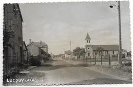 Ardennes LUCQUY  église Rue ...ab - France