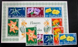 Barbados 325/9+HB3 ** - Barbados (1966-...)