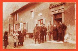 Nw5012 Rare Carte-Photo MARINGEN SILVINGEN Moselle Restautant 1917 à Marc CHARPENTIER Poniewiez Panevezys Lituanie - Otros Municipios