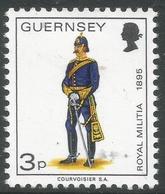 Guernsey. 1974 Guernsey Militia. 3p MH. SG 103 - Guernsey