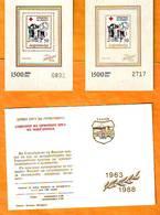 Yugoslavia 1988 Y Charity Stamps  Red Cross Solidarity  For Macedonia Catalog Safar Booklets 16-17 A MNH - Ongebruikt