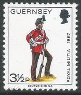 Guernsey. 1974 Guernsey Militia. 3½p MH. SG 104 - Guernsey