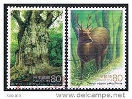 Japan 1995 - World Heritage - 1989-... Emperador Akihito (Era Heisei)