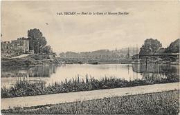 Ardennes SEDAN Pont De La Gare Et Maison Stackler ...ab - Sedan