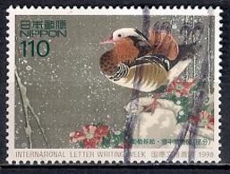 Japan 1998 - International Correspondence Week - Paintings By Shakuchu Ito - 1989-... Emperador Akihito (Era Heisei)