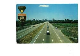 Cpm - Richmond–Petersburg Turnpike - Autoroute Route à Péage - Interstate 95 - Voiture - Richmond