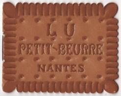 CALENDRIER 1932 - Petit Beurre LU Livret 6 Feuillets Lefèvre Utile - Biscuit - Calendars