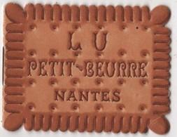 CALENDRIER 1933 - Petit Beurre LU Livret 6 Feuillets Lefèvre Utile - Biscuit - Calendars