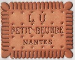 CALENDRIER 1937 - Petit Beurre LU Livret 6 Feuillets Lefèvre Utile - Biscuit - Calendars